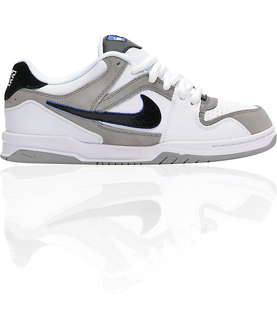 Nike 6.0 Zoom Oncore White, Black & Medium Grey Shoes