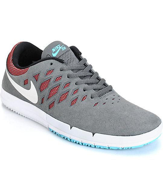 9d86bbe51c42 Nike Free SB Dark Grey
