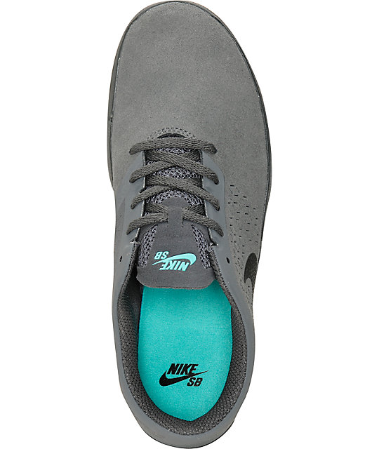6a42444b66827 ... Nike Free SB Nano Dark Grey   White Shoes ...