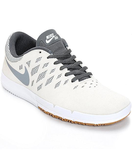 best service 4d888 76152 Nike Free SB zapatos de colores Vela y gris fresco ...