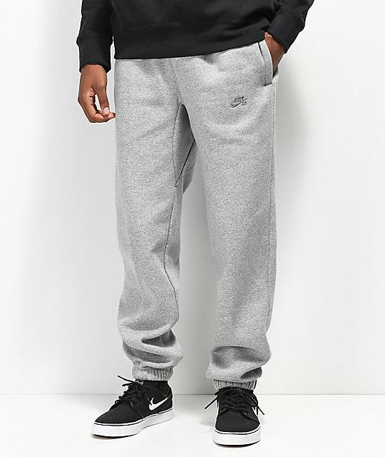 Nike Icon Tech Fleece Grey Sweatpants