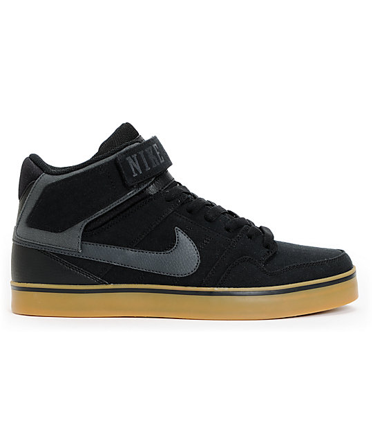 info for 93e74 fd6ad ... Nike SB Air Mogan Mid 2 SE Black   Gum Rip Stop Shoes
