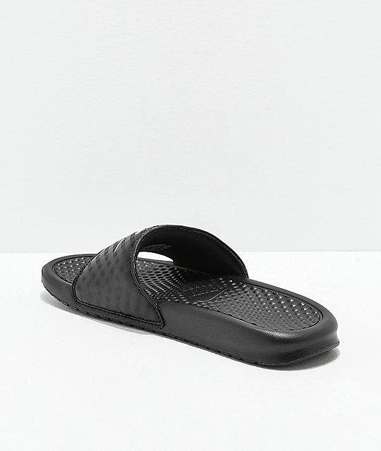 sandalias negras Nike y blancas SB Benassi PPEqwTW6
