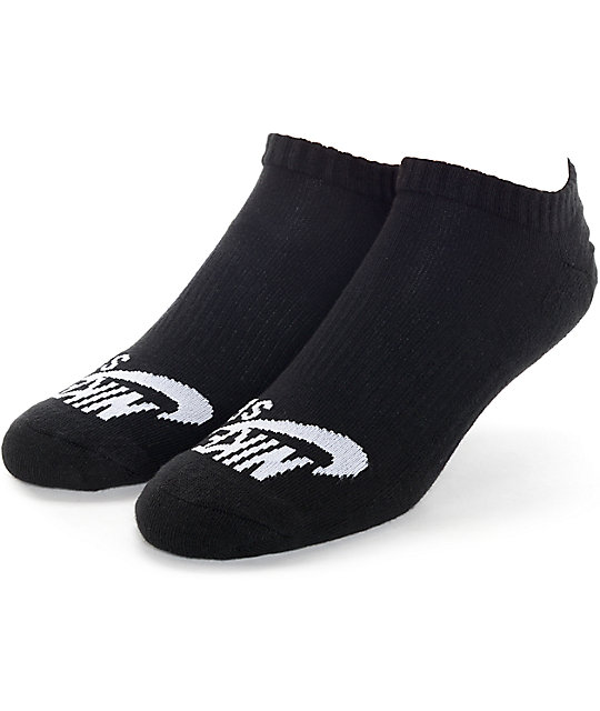 Nike SB Black 3 Pack No Show Socks