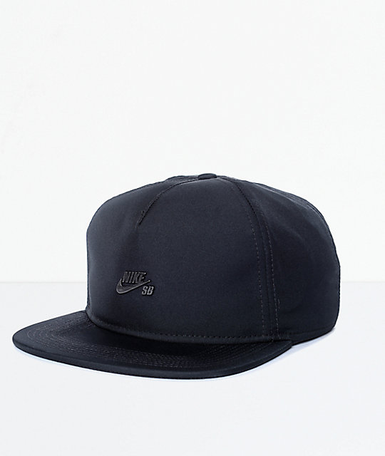 Nike SB Black Dri-Fit Unstructured Strapback Hat  f24cb1dc2c9