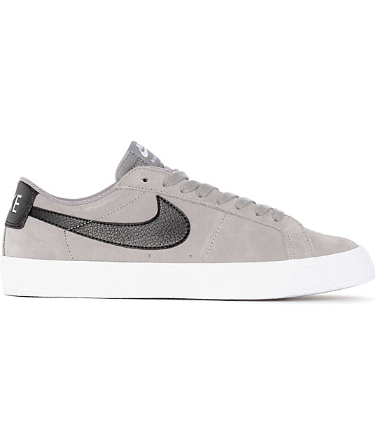 the latest 429da 25e38 Nike-SB-Blazer-Zoom-Grey- -White-Suede-Skate-Shoes- 272218-alt3-US.jpg