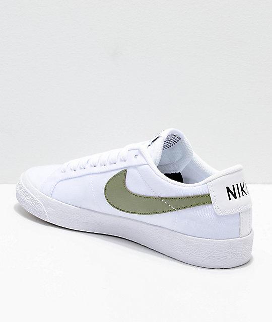 62daf769b3f8 nike sb blazer low green white