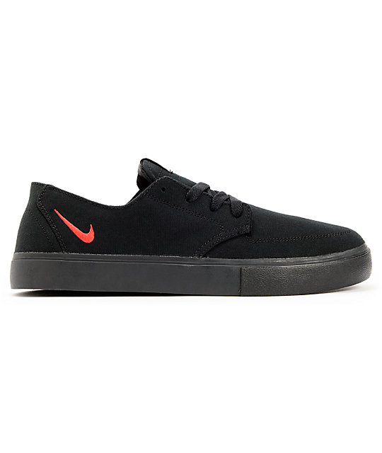 Nike SB Braata LR Black & University Red Shoes