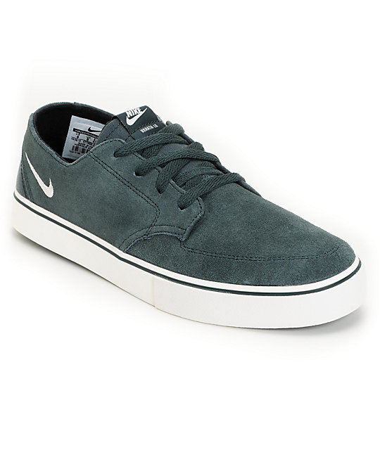 Nike SB Braata LR Seaweed & Sail & Black Skate Shoes
