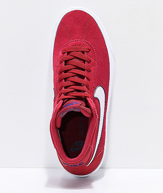 Nike SB Bruin Hi Red Crush zapatos de skate