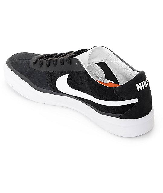 f2832a890e9ff ... Nike SB Bruin Hyperfeel Black   White Skate Shoes ...