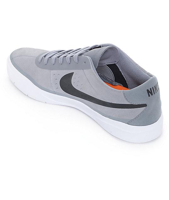super popular 40f8d 513b3 ... Nike SB Bruin Hyperfeel Cool zapatos de skate en gris y negro ...