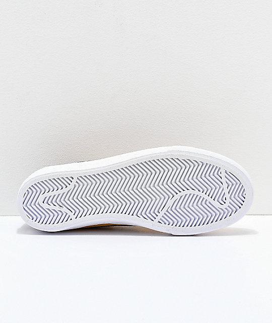 nike sb bruin low yellow blue white skate shoes zumiez