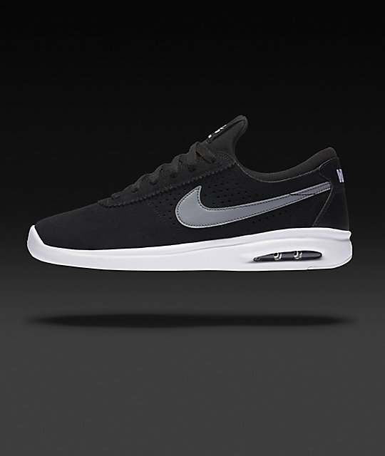 Nike SB Bruin Vapor Air Max Black & Grey Skate Shoes