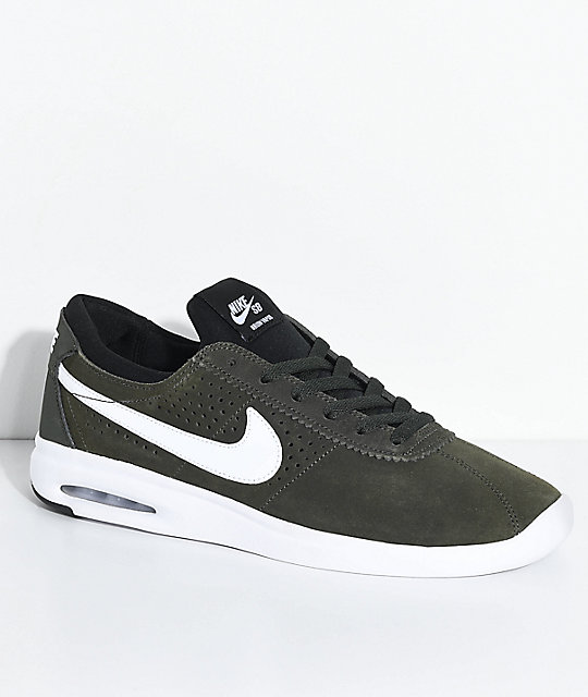 outlet on sale the sale of shoes fashion styles Nike SB Bruin Vapor Air Max Sequoia & White Skate Shoes