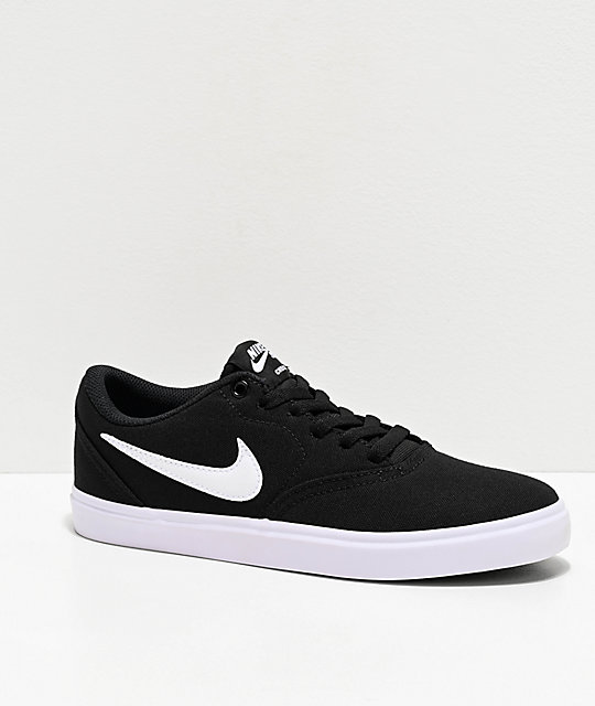 Nike SB Check Solarsoft Shoes | Latest shoes, Shoes, Black shoes
