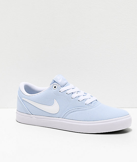 nike shoes baby blue
