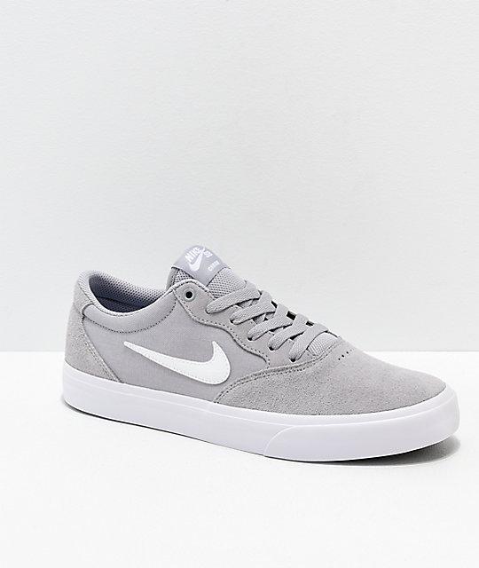 nike shoes grey