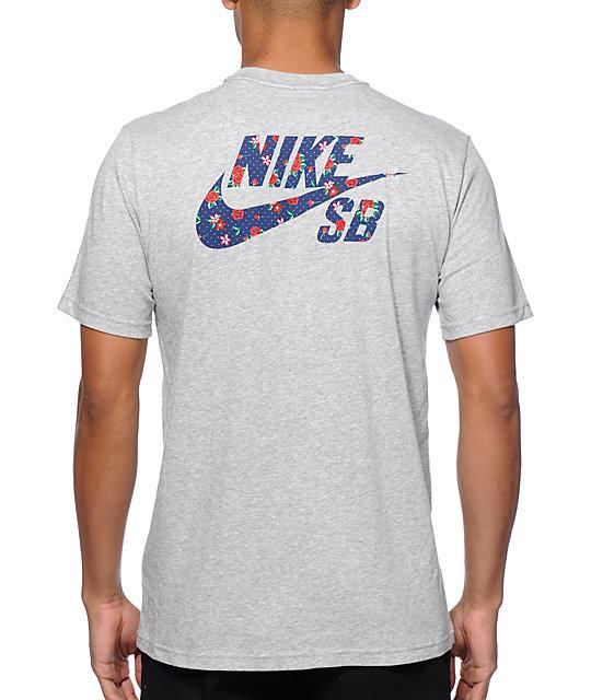 5c42d958d66a9 Nike SB Dri-Fit Dot Floral T-Shirt | Zumiez