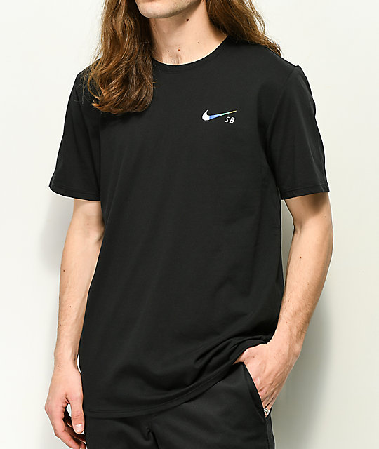 Nike SB Dri Fit Global Black T-Shirt