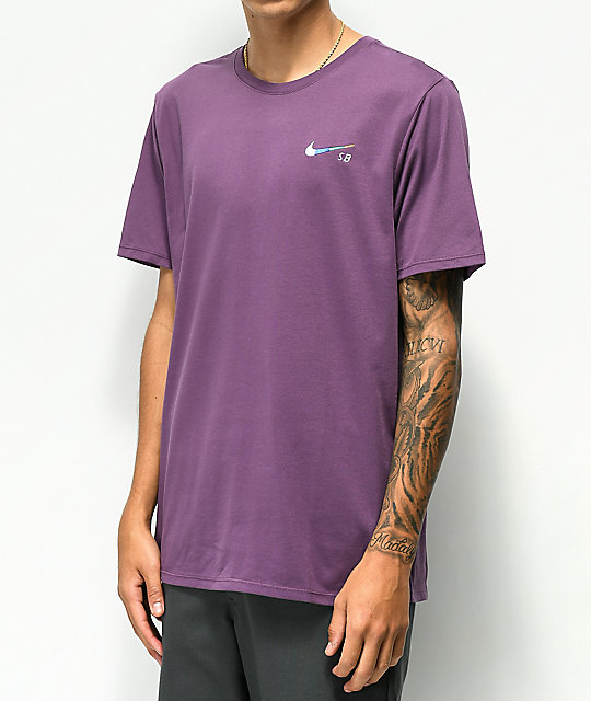 Nike SB Dri Fit Global Purple T-Shirt