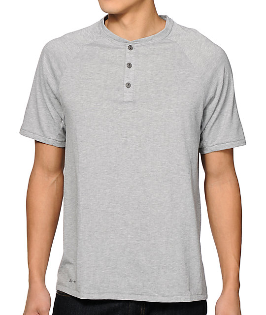a3abb3b7d Nike SB Dri-Fit Henley T-Shirt | Zumiez