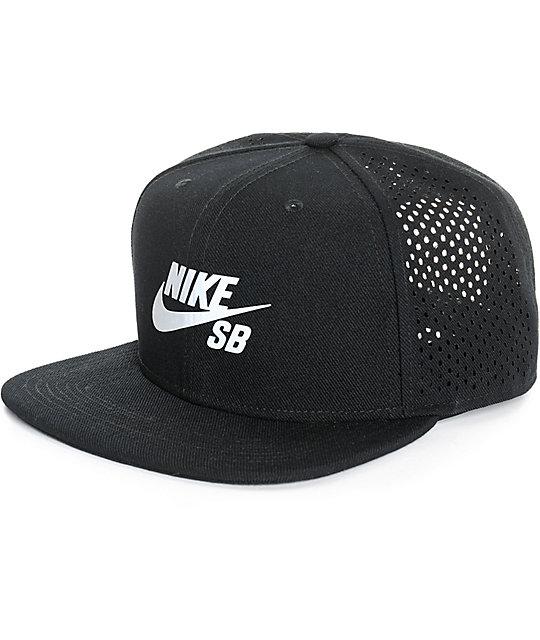 b793b88d Nike SB Dri-Fit Perforated Reflective Trucker Hat | Zumiez