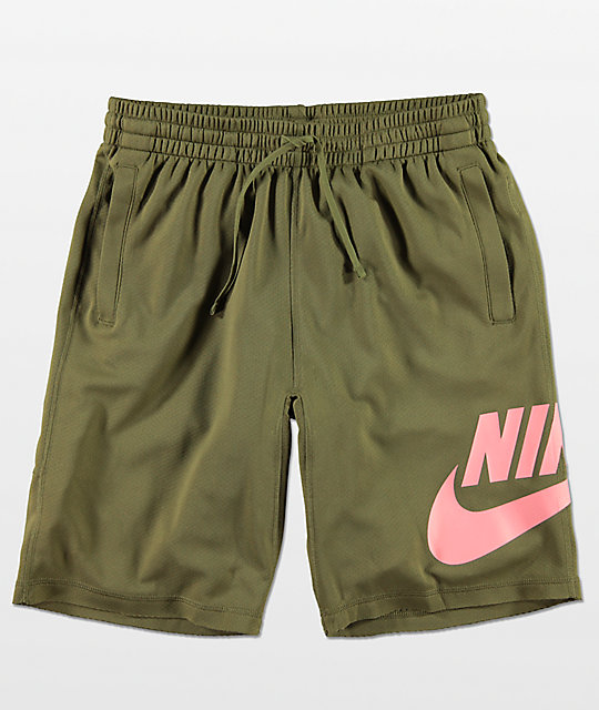 Nike SB Dri-Fit Sunday Olive Shorts