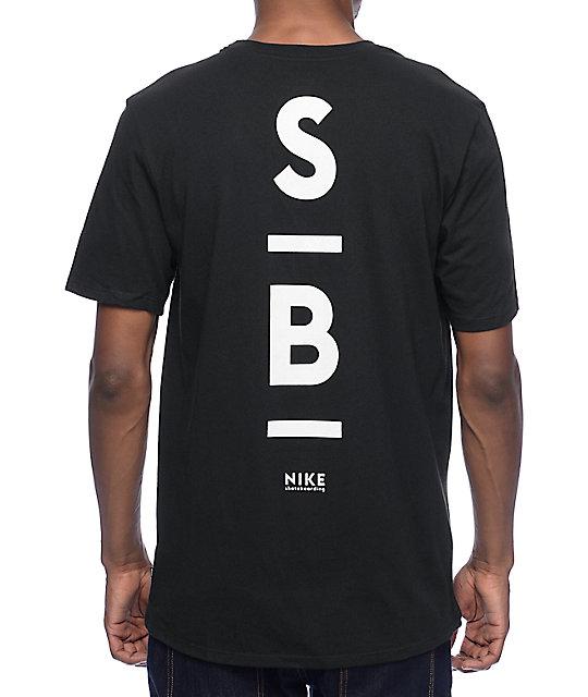 a00df0167a Nike SB Dri-Fit Transit camiseta negra ...