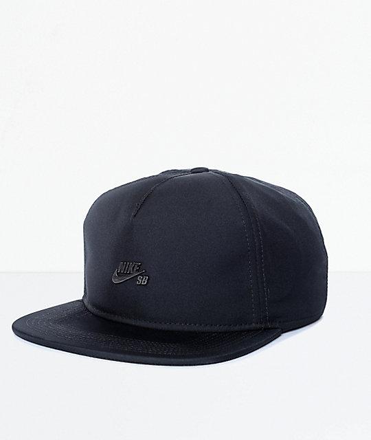 Nike SB Dri Fit gorra strapback en negro