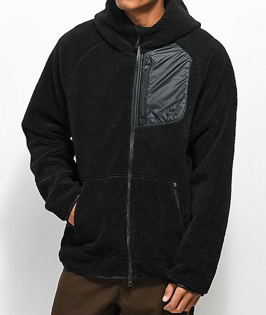 Zumiez Everett Nike Zip Black Hoodie Sb Sherpa wp6Z0O