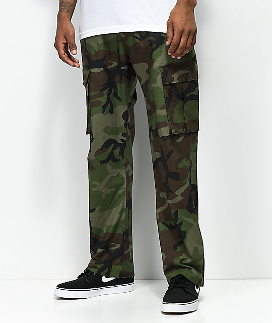 search for authentic 2018 shoes fantastic savings Nike SB FTM Camo Cargo Pants