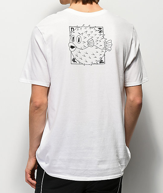 048757a1 Nike SB Fish White T-Shirt | Zumiez