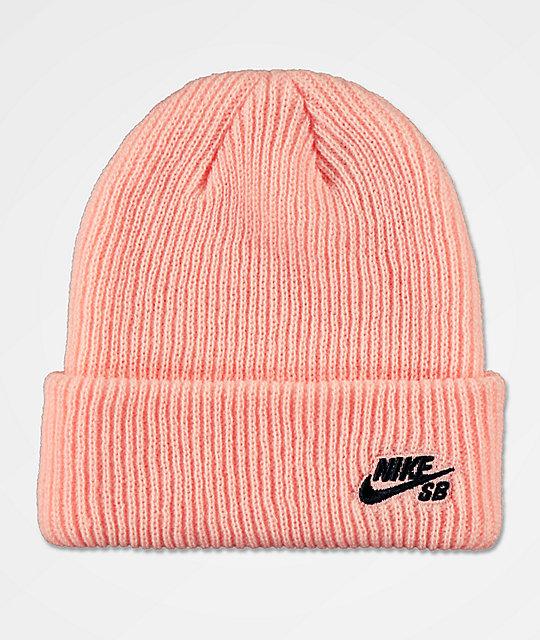 3a6487c854db3 Nike SB Fisherman Storm Pink Beanie