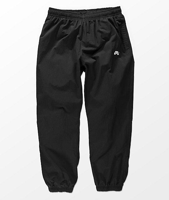 5c93c3a66c782 Nike SB Flex Black Track Pants   Zumiez