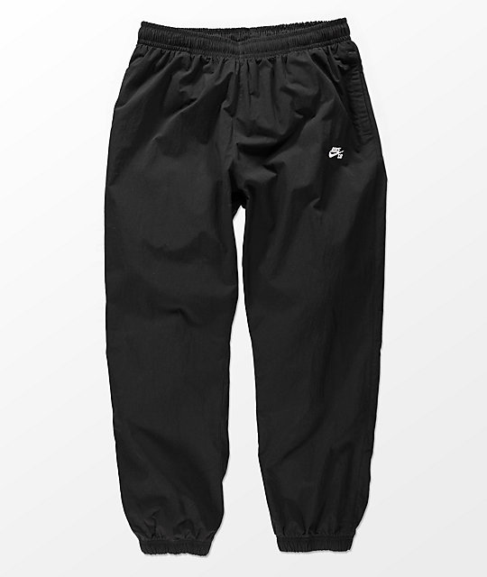 Simular Excluir fingir  Nike SB Flex Black Track Pants   Zumiez