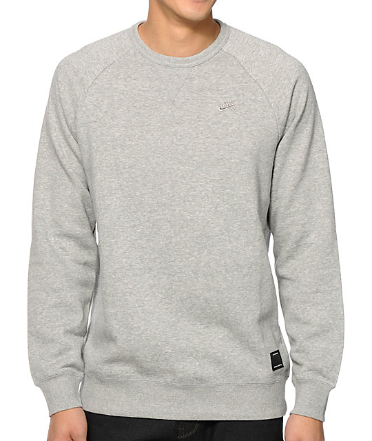 Nike Sb Foundation Crew Neck Sweatshirt Zumiez