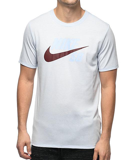 Nike Azul Hybrid En Futura Camiseta Fit Sb Tonal Dri Logo Zumiez Claro rqcrtwzR4x
