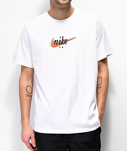 great prices best authentic exquisite design Nike SB Futura White T-Shirt
