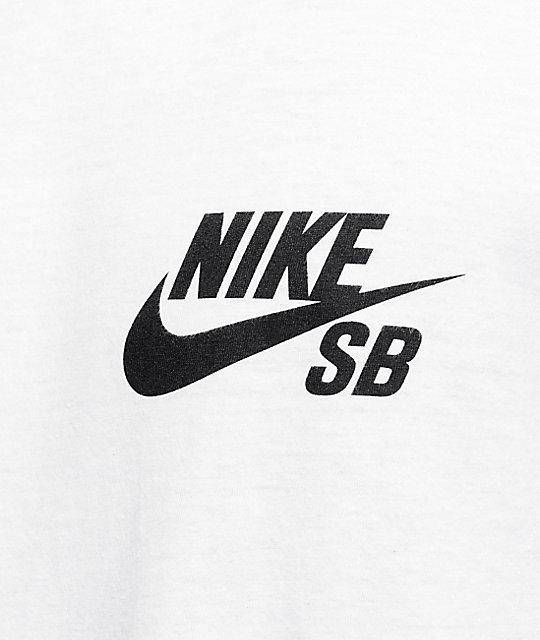 c96e1505f8dad ... Nike SB Futura camiseta manga corta en blanco