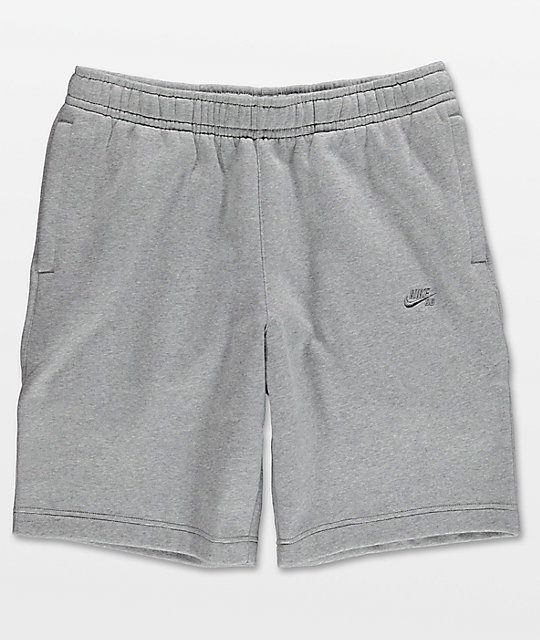 Nike SB Grey Fleece Shorts