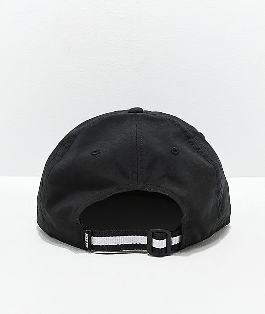 Nike SB H86 Unstructured Black and White Strapback Hat