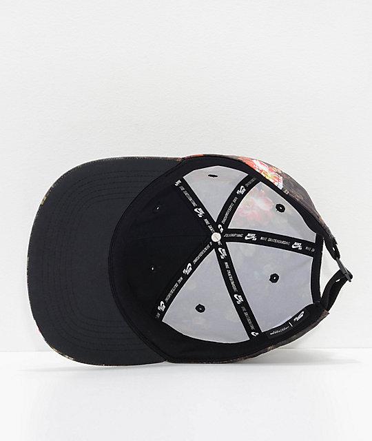 54ecc9611350 ... Nike SB Heritage 86 Floral Strapback Hat