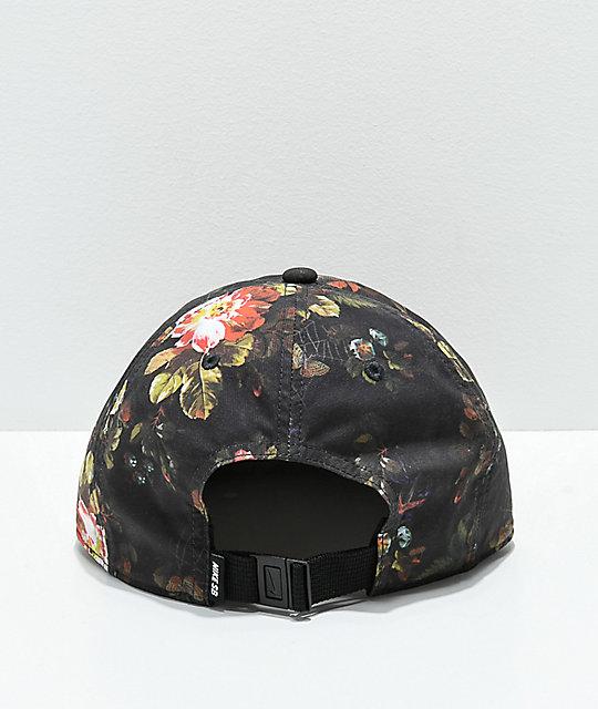 695b7497207d ... Nike SB Heritage 86 Floral Strapback Hat ...