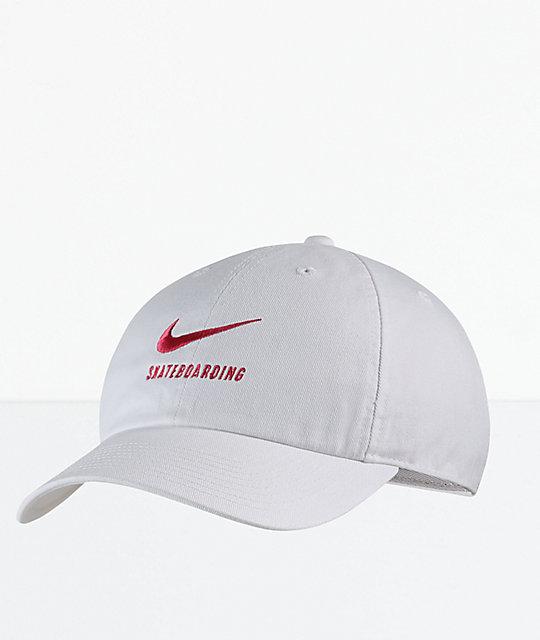 b15b8056884 Nike SB Heritage 86 Twill Black Strapback Hat