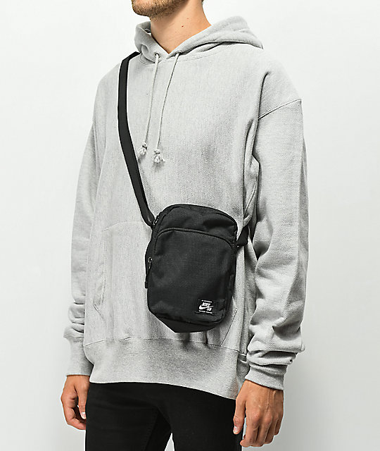 ... Nike SB Heritage Black   White Shoulder Bag ... eaaa05e7f