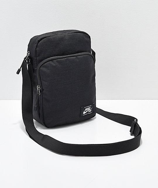 bcd051de Nike SB Heritage Black & White Shoulder Bag