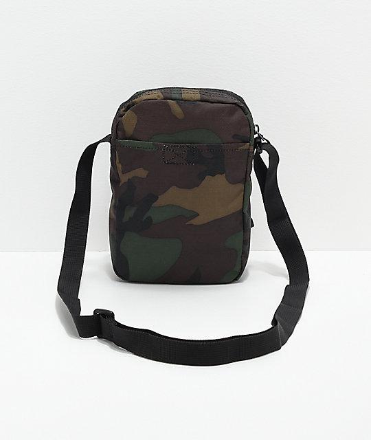 bf7b939b7ccc ... Nike SB Heritage Iguana Green Camo Shoulder Bag