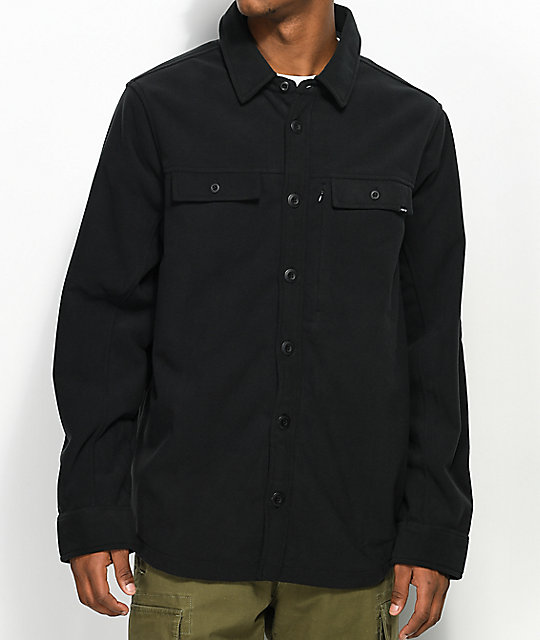 Nike SB Holgate Windstopper Black Tech Fleece Jacket