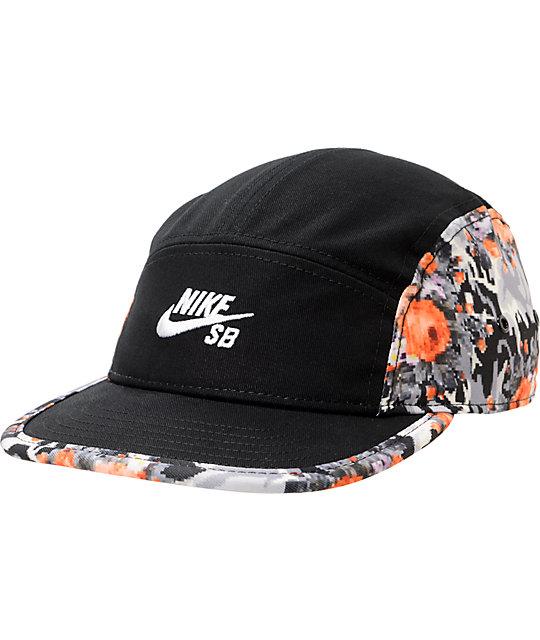 3c5e3a8d397f9 Nike SB Icon 5 Panel Mandarin Hat